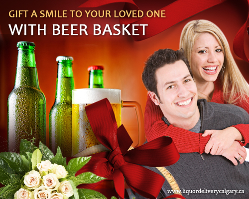 Gift A Smile To Your Loved One With Beer Basket Present