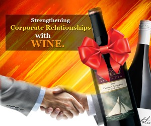 Corporate Relationships with Wine Gifts